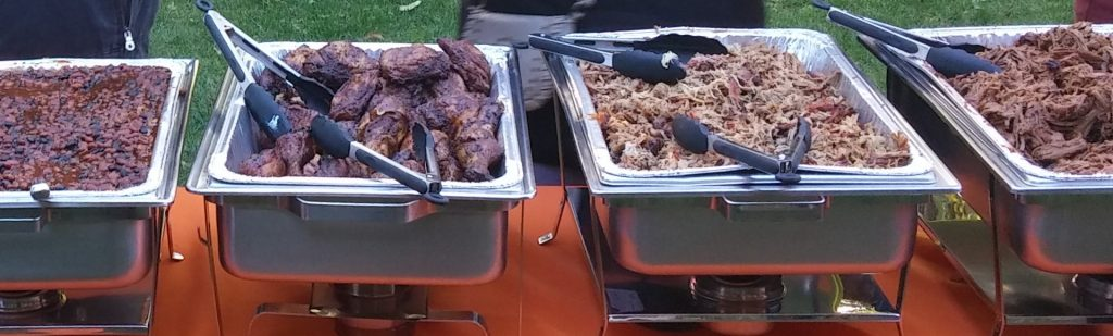 BBQ catering quotes for pulled pork, brisket, beans and everything else