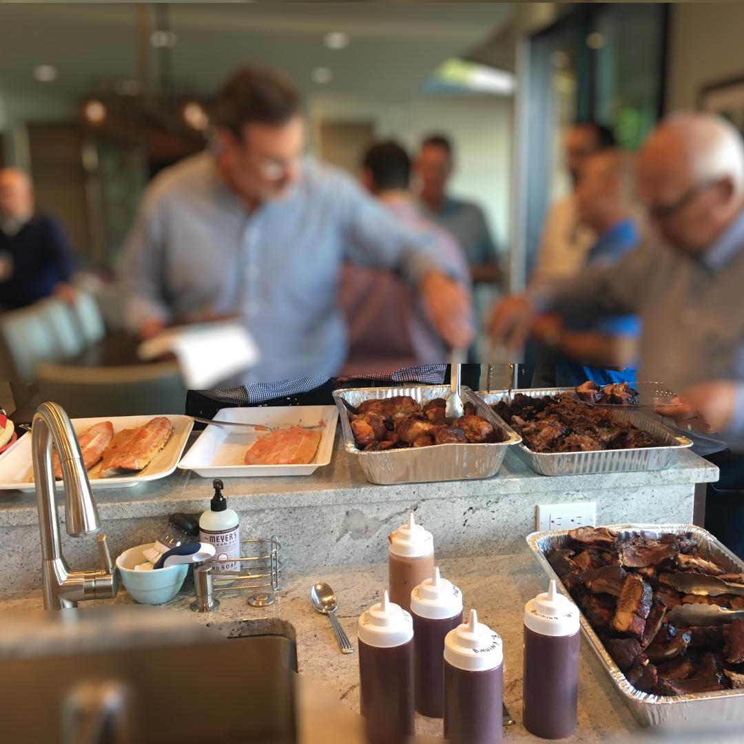 BBQ catering your anniversary party