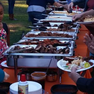 bbq catering event