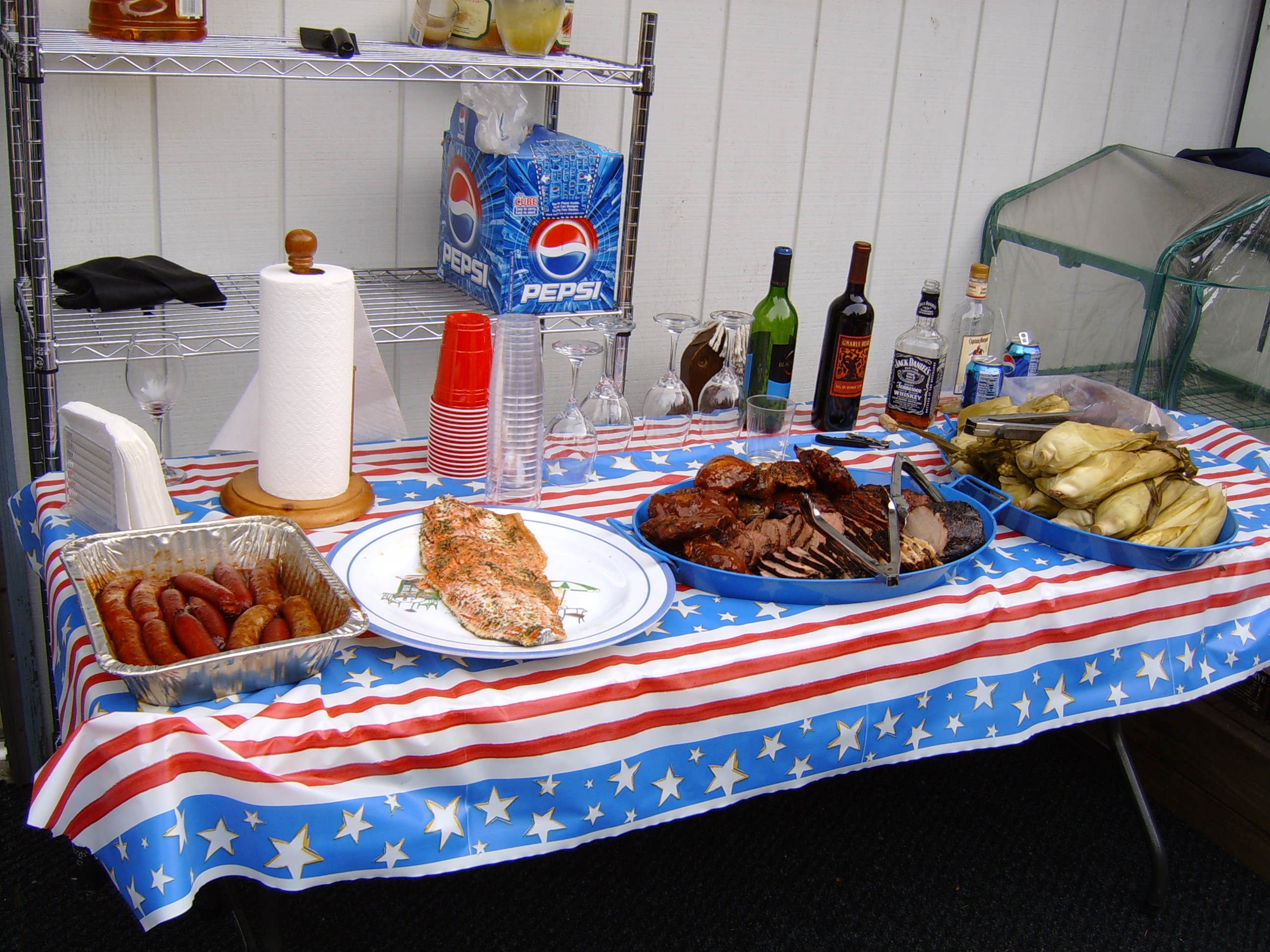 Tailgate Party bbq catering